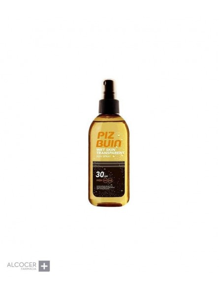 PIZ BUIN WET SKIN ACEITE SPRAY SPF30 150 ML
