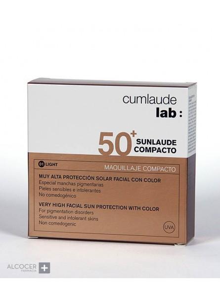 CUMLAUDE SUNLAUDE COMPACTO SPF50+ COLOR 01 LIGHT (NP+)