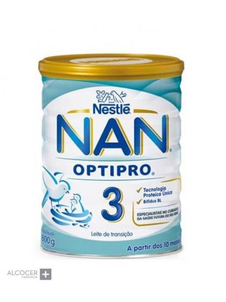 NESTLE NAN 3 OPTIPRO 800 GRAMOS