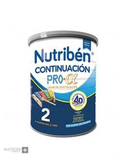 NUTRIBEN 2 CONTINUACION PRO-ALFA 800 GRAMOS
