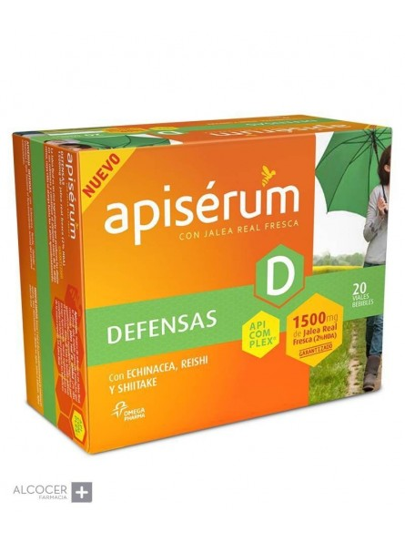 APISERUM DEFENSAS 20 VIALES BEBIBLES