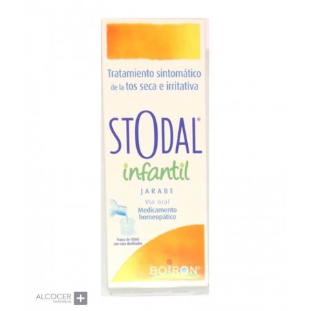 BOIRON STODAL INFANTIL JARABE 150 ML