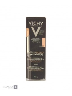 VICHY DERMABLEND SOS COVER STICK 25 NUDE 4.5 GR
