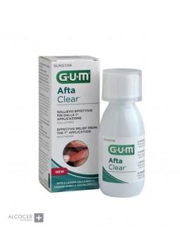 GUM AFTA CLEAR COLUTORIO 120 ML
