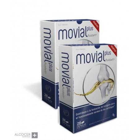 MOVIAL PLUS FLUIDART PACK 2 X 28 CAPSULAS