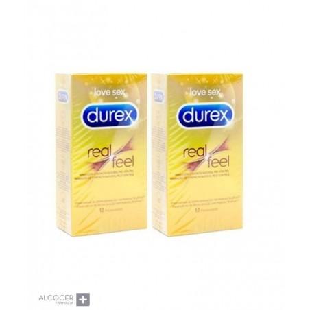 DUREX REAL FEEL PACK 2 X 12 PRESERVATIVOS