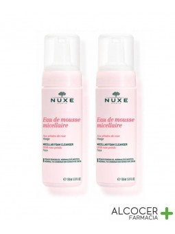 NUXE AGUA DE MOUSSE MICELAR PACK 2 X 150 ML