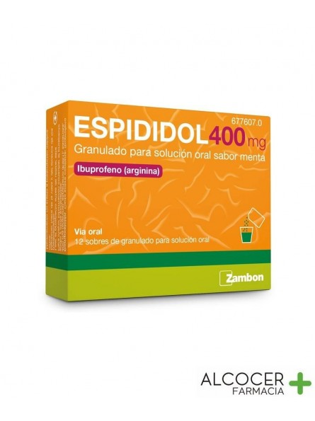 ESPIDIDOL 400 MG 20 SOBRES MENTA